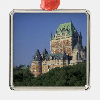 Canada, Quebec City.  Chateau Frontenac. Christmas Ornament