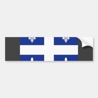 Canada Quebec Flag Bumper Sticker