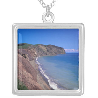 Canada, Quebec, Magdalen Islands, Cap Alright 2 Silver Plated Necklace