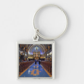 Canada,  Quebec,  Montreal. Interior of Notre 3 Key Ring