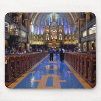 Canada,  Quebec,  Montreal. Interior of Notre 3 Mouse Mat