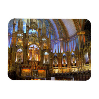 Canada,  Quebec,  Montreal. Interior of Notre Magnet
