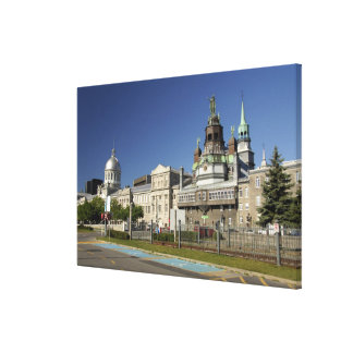 Canada,  Quebec,  Montreal. Old Montreal Canvas Prints
