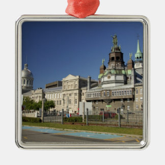 Canada,  Quebec,  Montreal. Old Montreal Christmas Ornament