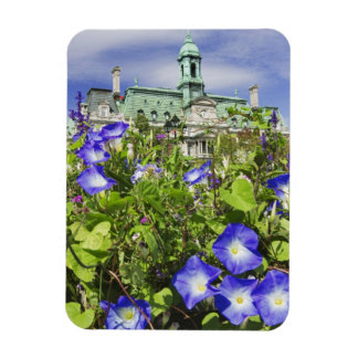Canada, Quebec, Montreal. View of City Hall Magnet