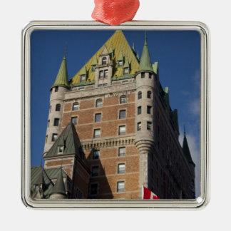 Canada, Quebec, Quebec City. Fairmont Chateau Christmas Ornament