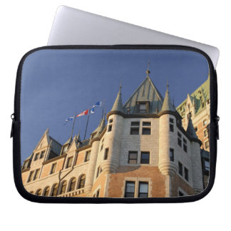 Canada,  Quebec,  Quebec City. Fairmont Chateau Laptop Sleeve