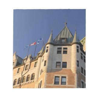 Canada,  Quebec,  Quebec City. Fairmont Chateau Notepad