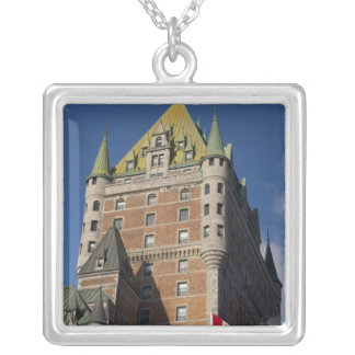 Canada, Quebec, Quebec City. Fairmont Chateau Silver Plated Necklace