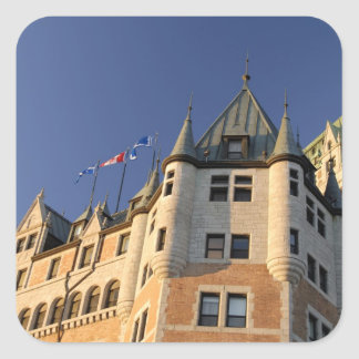 Canada,  Quebec,  Quebec City. Fairmont Chateau Square Sticker