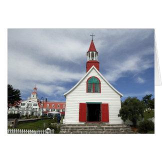 Canada,  Quebec,  Tadoussac. Petite Chapelle, Card