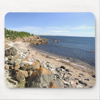 Canada, Quebec. VIA Rail Canada train The 2 Mouse Mat