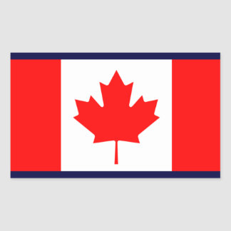 Canada Rectangular Sticker