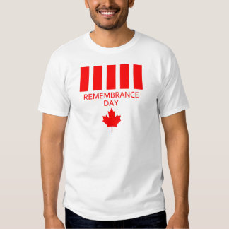 Canada Remembrance Day T-Shirt
