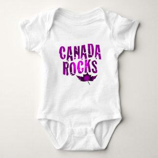 Canada Rocks Baby Bodysuit