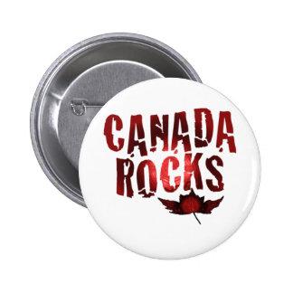 Canada Rocks 6 Cm Round Badge