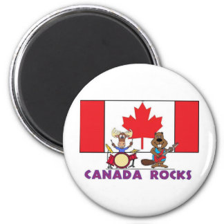 Canada Rocks Magnet