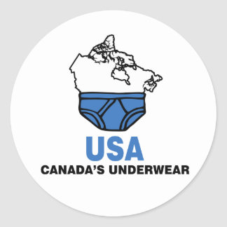 Canada s Underwear Stickers