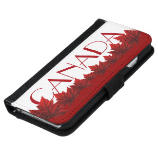 Canada Smartphone Wallet Canada Flag Mobile Cases