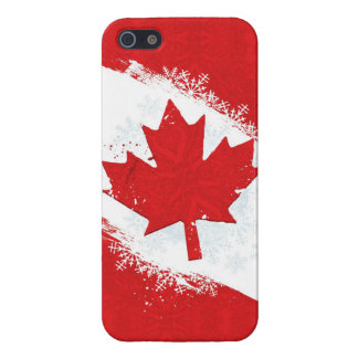 Canada Snowflake Case For The iPhone 5