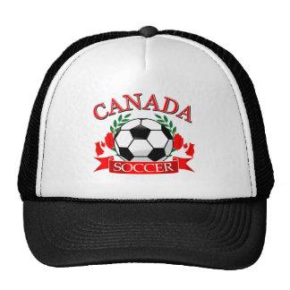 Canada soccer ball designs mesh hats