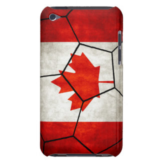 Canada Soccer Ball iPod Touch Case