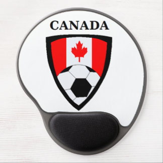 Canada Soccer Gel Mouse Pad