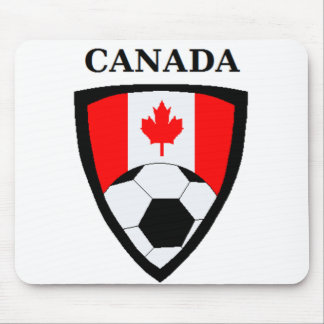 Canada Soccer Mouse Pad