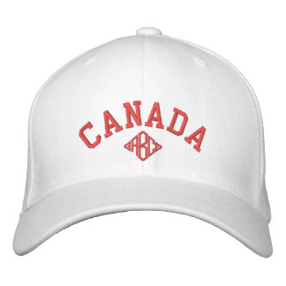 Canada Souvenir Baseball Cap Custom Monogram