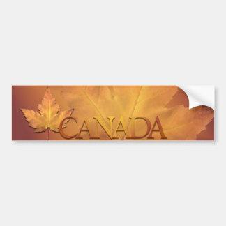 Canada Souvenir Bumper Sticker Maple Leaf Sticker