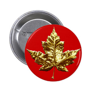 Canada Souvenir Button Gold Medal Canada Buttons