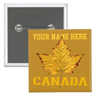 Canada Souvenir Button Varsity Canada Buttons Pins