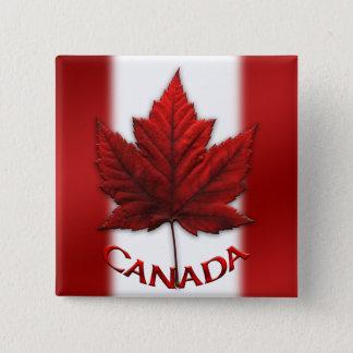 Canada Souvenir Buttons Canada Flag Maple Leaf Pin