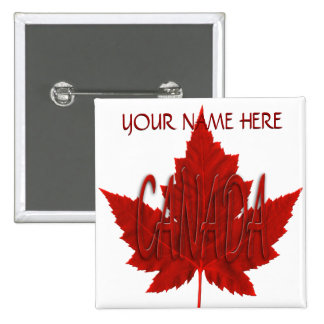 Canada Souvenir Buttons Personalized Canada Button