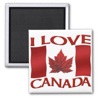 Canada Souvenir Fridge Magnet I Love Canada