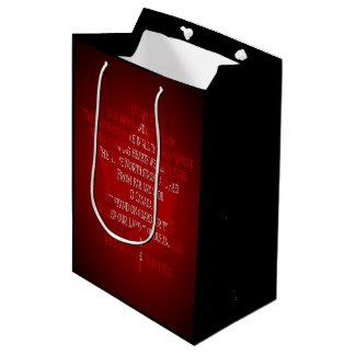 Canada Souvenir Gift Bags Canada Anthem Gift Bag