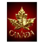 Canada Souvenir Postcards Canada Flag Art Cards
