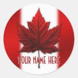 Canada Souvenir Stickers Custom Canada Stickers