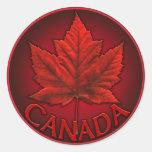 Canada Stickers Red Canada Souvenir Stickers