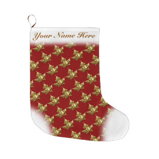 Canada Stocking Canada Christmas Stocking Custom