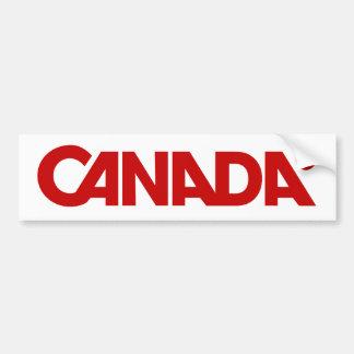Canada Styled Bumper Bumper Sticker