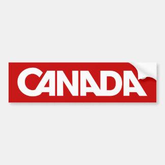 Canada Styled Bumper Bumper Stickers