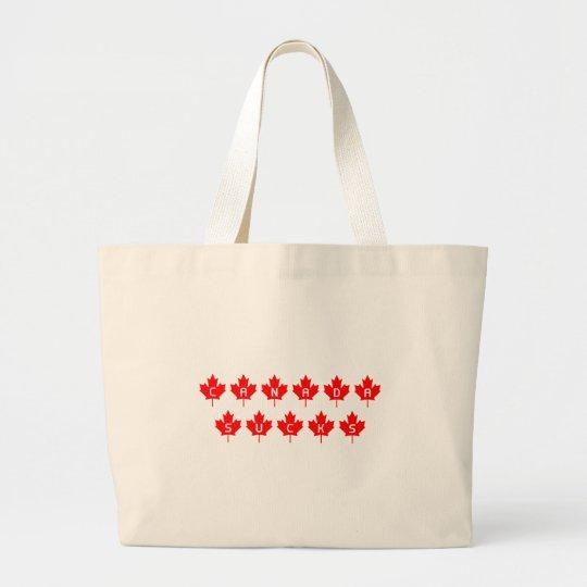 Canada Sucks Large Tote Bag