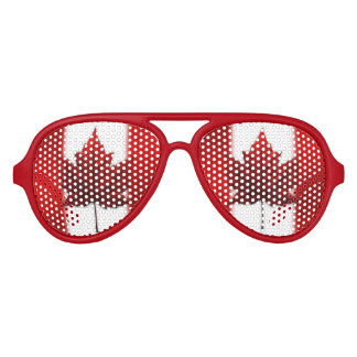 Canada Sunglasses Fun Canada Flag Costume Gifts