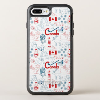 Canada | Symbols Pattern OtterBox Symmetry iPhone 8 Plus/7 Plus Case