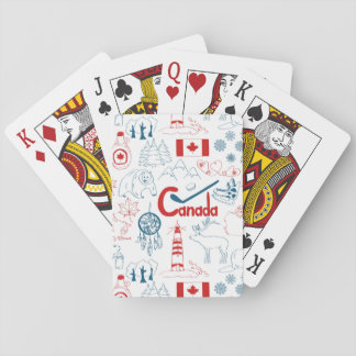 Canada | Symbols Pattern Playing Cards