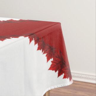 Canada Tablecloth Canada Maple Leaf Tablecloth
