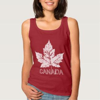 Canada Tank Top Cool Canada Souvenir Women's Tops