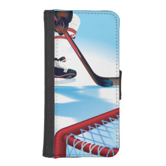 Canada Team Hockey Player iPhone SE/5/5s Wallet Case