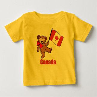 Canada Teddy Bear Baby T-Shirt